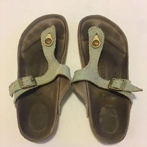 Birkenstock fabric Sandals size 6 ( 36 UE )